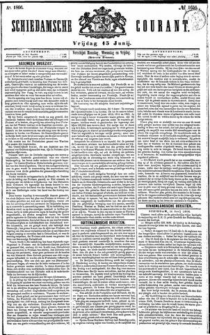 Schiedamsche Courant 1866-06-15
