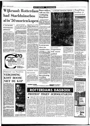 Rotterdamsch Parool / De Schiedammer 1970-06-09