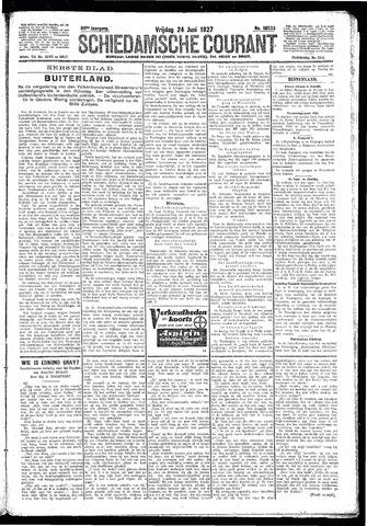 Schiedamsche Courant 1927-06-24