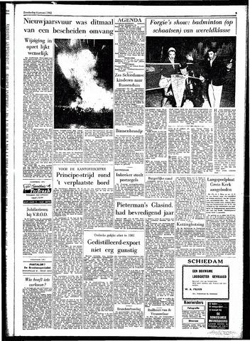 Rotterdamsch Parool / De Schiedammer 1962-01-04