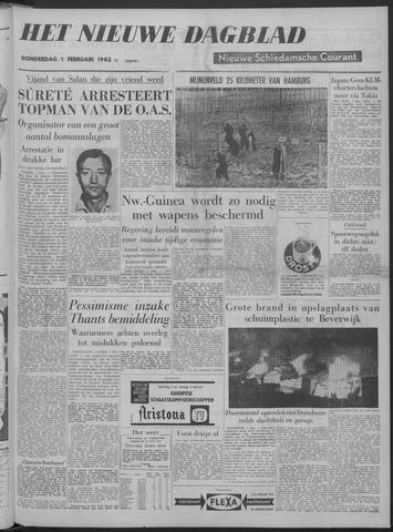 Nieuwe Schiedamsche Courant 1962-02-01