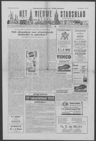 Het Nieuwe Stadsblad 1959-07-22