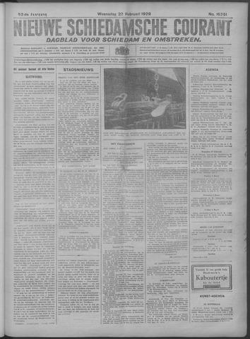 Nieuwe Schiedamsche Courant 1929-02-27