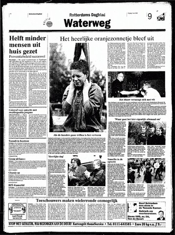 Rotterdamsch Nieuwsblad / Schiedamsche Courant / Rotterdams Dagblad / Waterweg / Algemeen Dagblad 1998-05-01