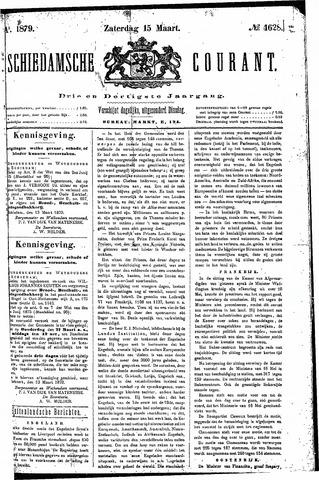 Schiedamsche Courant 1879-03-15