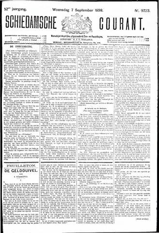 Schiedamsche Courant 1898-09-07