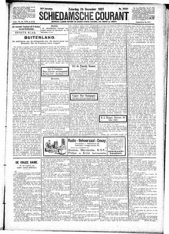 Schiedamsche Courant 1927-12-24