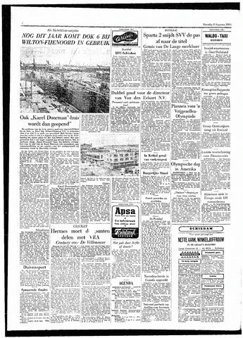 Rotterdamsch Parool / De Schiedammer 1955-08-08