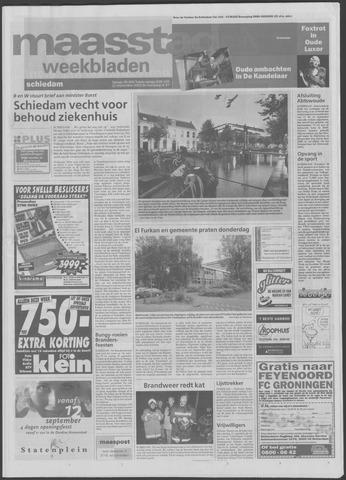 Maaspost / Maasstad / Maasstad Pers 2001-09-12