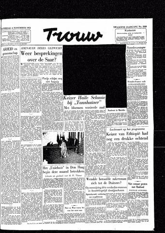Trouw / De Rotterdammer 1954-11-06