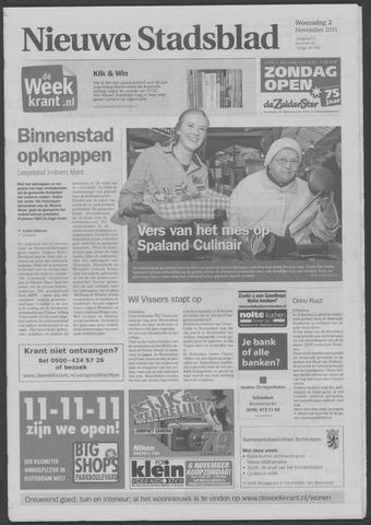 Het Nieuwe Stadsblad 2011-11-02