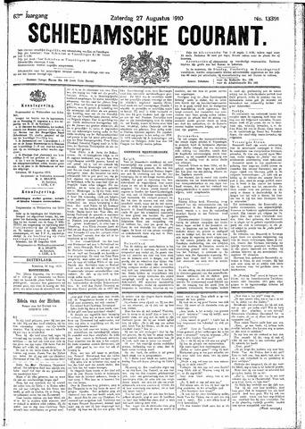 Schiedamsche Courant 1910-08-27