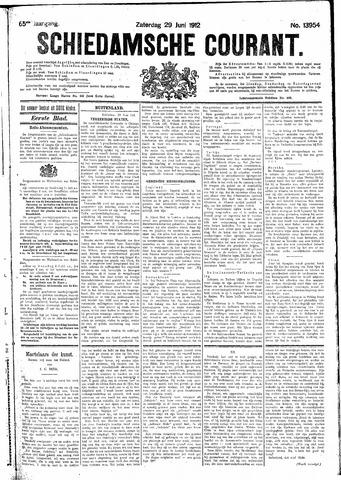 Schiedamsche Courant 1912-06-29