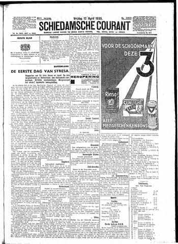 Schiedamsche Courant 1935-04-12