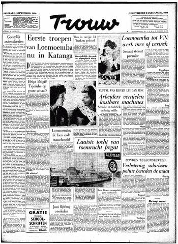 Trouw / De Rotterdammer 1960-09-09