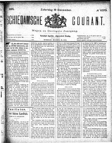 Schiedamsche Courant 1885-12-19