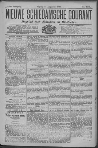 Nieuwe Schiedamsche Courant 1909-08-13