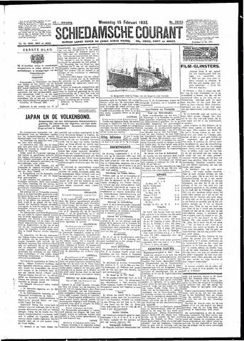 Schiedamsche Courant 1933-02-15