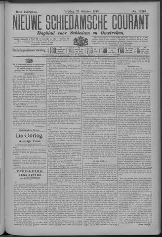 Nieuwe Schiedamsche Courant 1918-10-25