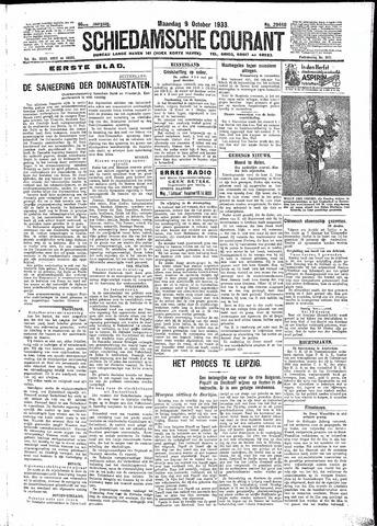 Schiedamsche Courant 1933-10-09