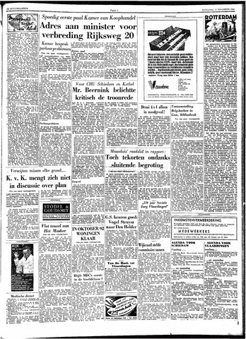 Trouw / De Rotterdammer 1962-11-10