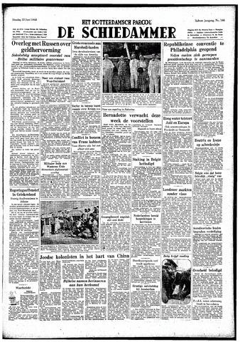 Rotterdamsch Parool / De Schiedammer 1948-06-22