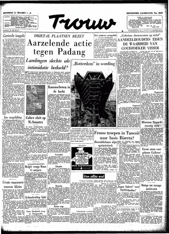 Trouw / De Rotterdammer 1958-03-11