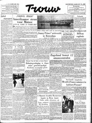 Trouw / De Rotterdammer 1955-02-16