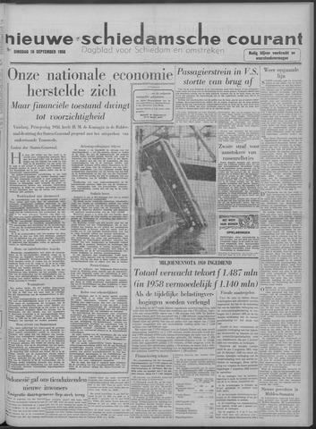 Nieuwe Schiedamsche Courant 1958-09-16