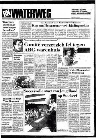Rotterdamsch Nieuwsblad / Schiedamsche Courant / Rotterdams Dagblad / Waterweg / Algemeen Dagblad 1987-07-14