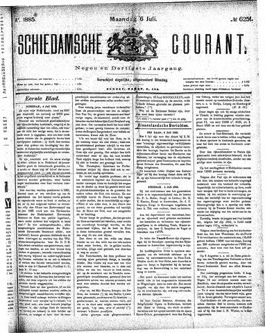Schiedamsche Courant 1885-07-06