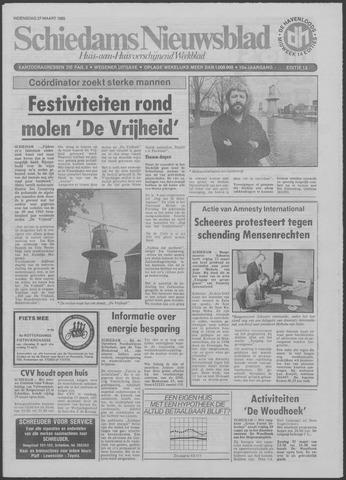 Schiedams Nieuwsblad 1985-03-27