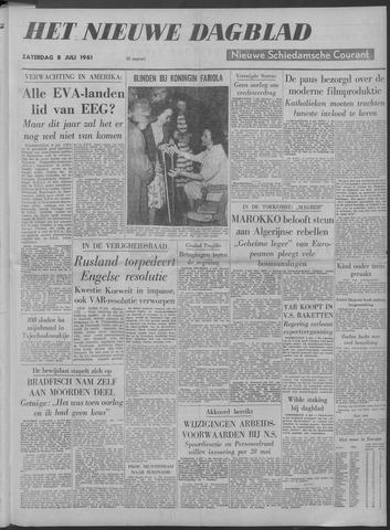 Nieuwe Schiedamsche Courant 1961-07-08