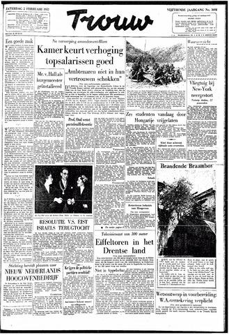 Trouw / De Rotterdammer 1957-02-02