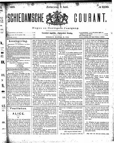 Schiedamsche Courant 1885-06-06