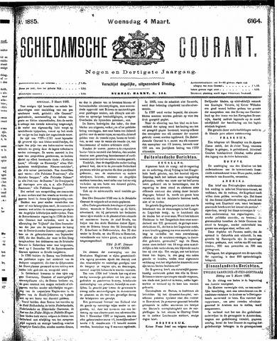 Schiedamsche Courant 1885-03-04