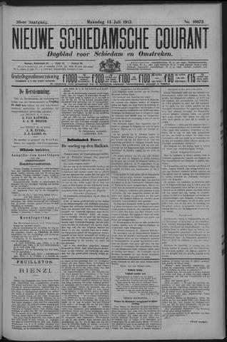Nieuwe Schiedamsche Courant 1913-07-14