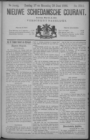 Nieuwe Schiedamsche Courant 1886-06-28