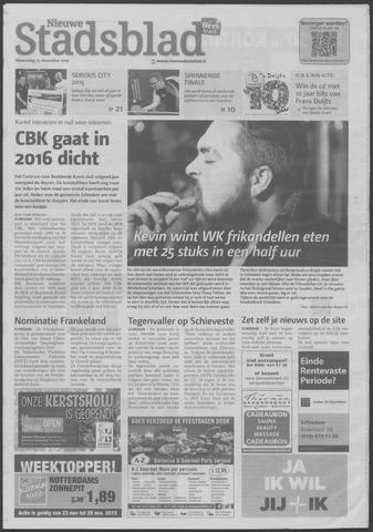 Het Nieuwe Stadsblad 2015-11-25