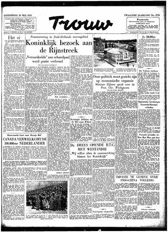 Trouw / De Rotterdammer 1954-05-20
