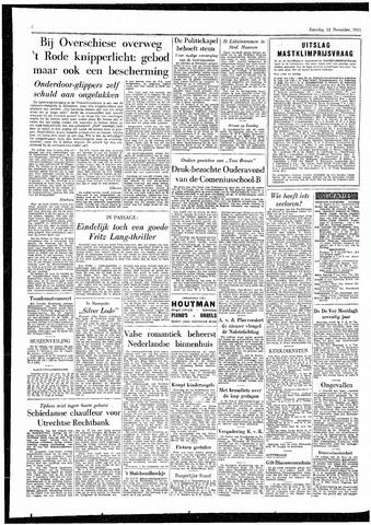 Rotterdamsch Parool / De Schiedammer 1955-11-12