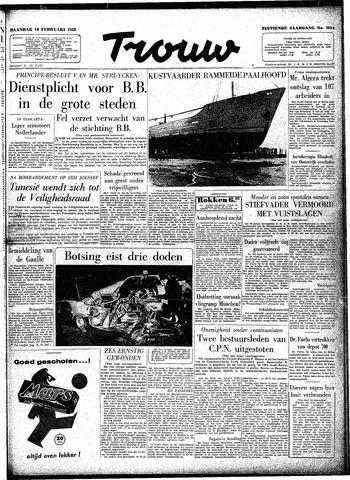 Trouw / De Rotterdammer 1958-02-10