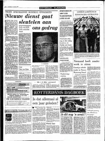 Rotterdamsch Parool / De Schiedammer 1968-11-09