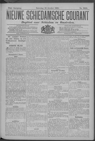 Nieuwe Schiedamsche Courant 1909-10-30