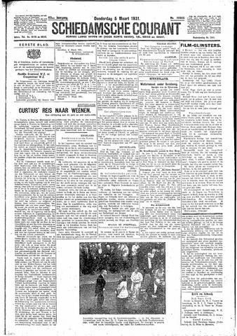 Schiedamsche Courant 1931-03-05