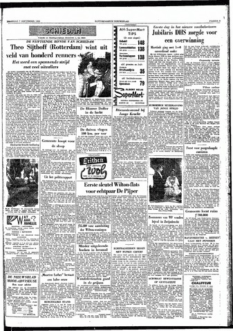 Rotterdamsch Nieuwsblad / Schiedamsche Courant / Rotterdams Dagblad / Waterweg / Algemeen Dagblad 1959-09-07