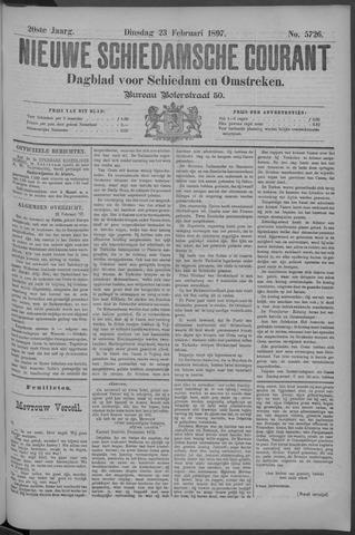 Nieuwe Schiedamsche Courant 1897-02-23