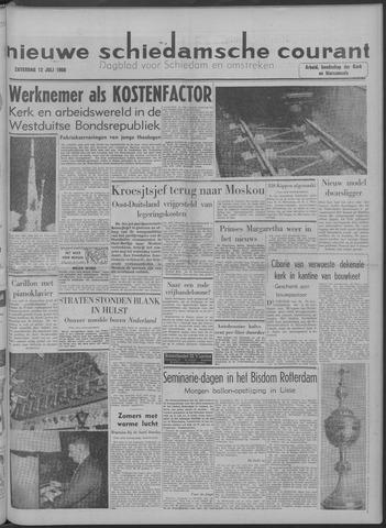 Nieuwe Schiedamsche Courant 1958-07-12