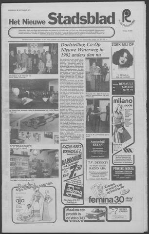 Het Nieuwe Stadsblad 1977-09-28