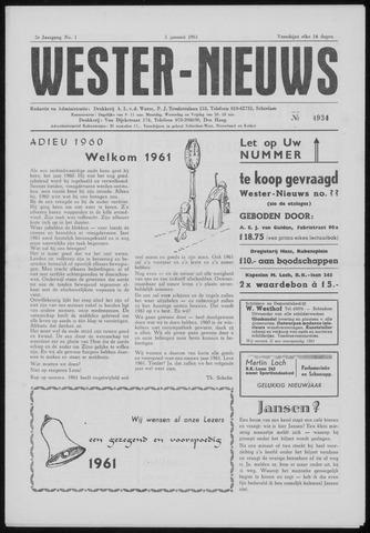 Wester Nieuws 1961